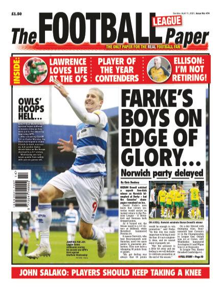 The Football League Paper April 11, 2021 00:00