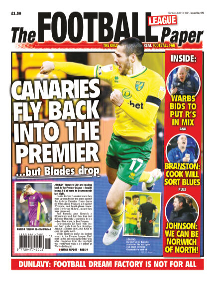 The Football League Paper April 18, 2021 00:00