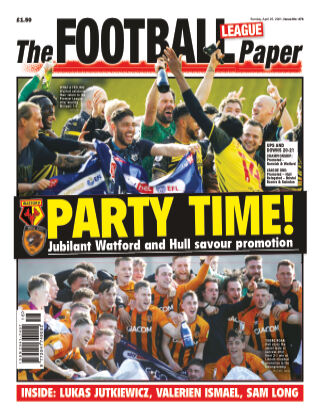 The Football League Paper 25th April 2021