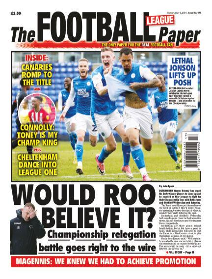 The Football League Paper May 02, 2021 00:00