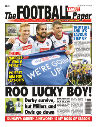 The Football League Paper 9th May 2021