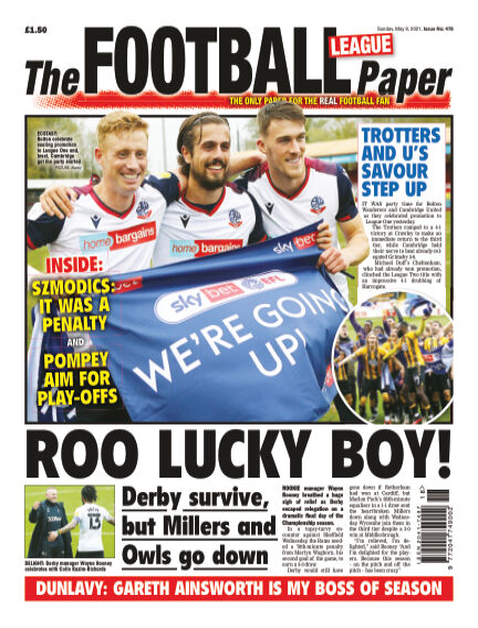 The Football League Paper May 09, 2021 00:00