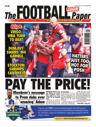 The Football League Paper 8th August 2021