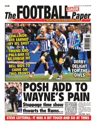 The Football League Paper 15th August 2021