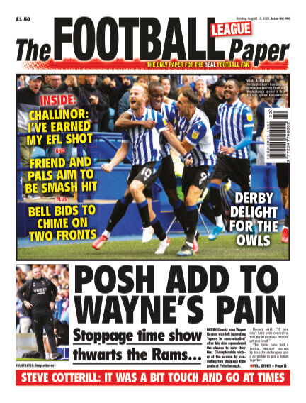 The Football League Paper August 15, 2021 00:00