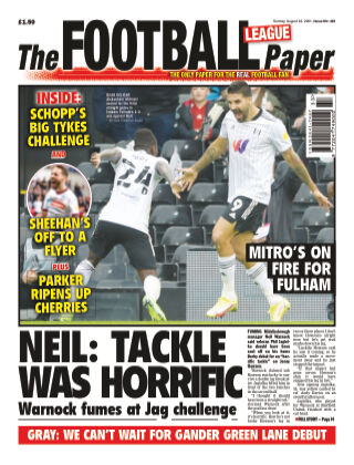 The Football League Paper 22nd August 2021