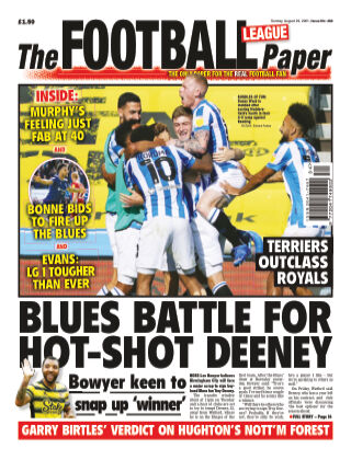 The Football League Paper 29th August 2021