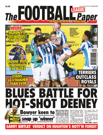 The Football League Paper August 29, 2021 00:00
