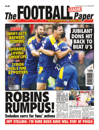 The Football League Paper 5th September 2021