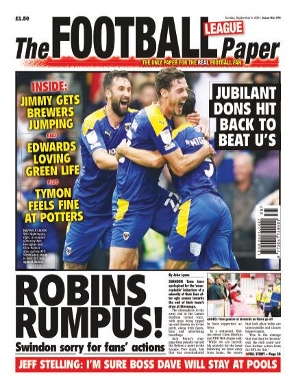 The Football League Paper September 05, 2021 00:00