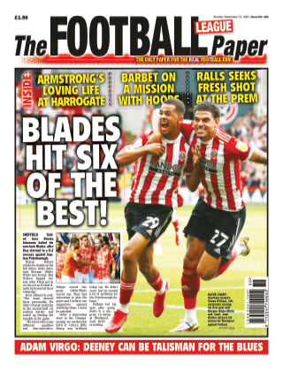 The Football League Paper 12th September 2021