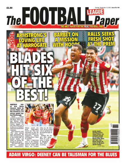 The Football League Paper September 12, 2021 00:00