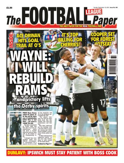 The Football League Paper September 19, 2021 00:00