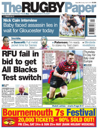 The Rugby Paper Issue No. 290