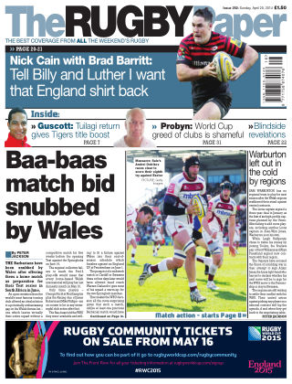 The Rugby Paper Issue No. 292