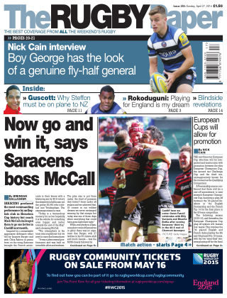 The Rugby Paper Issue No. 293
