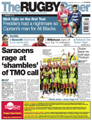 The Rugby Paper Issue 298