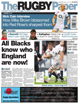 The Rugby Paper 8th June 2014