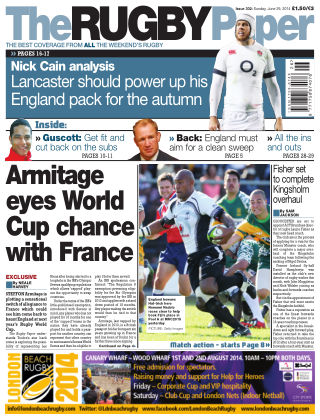 The Rugby Paper 29th June 2014