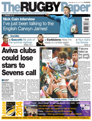 The Rugby Paper 6th July 2014