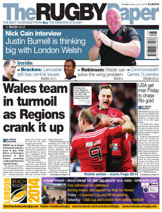 The Rugby Paper 13th July 2014