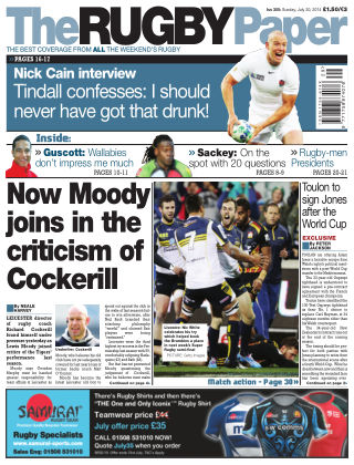 The Rugby Paper 20th July 2014
