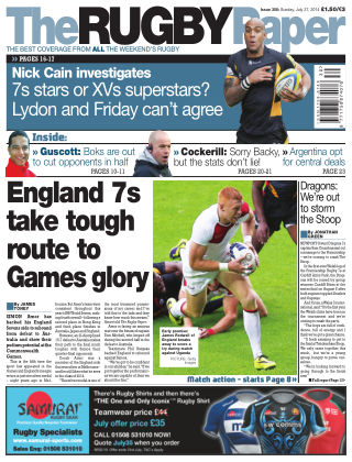 The Rugby Paper 27th July 2014