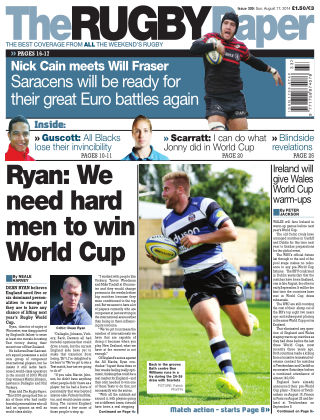 The Rugby Paper 17th August 2014