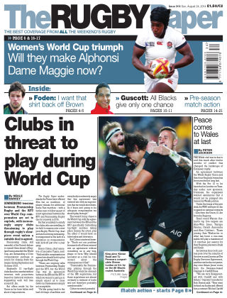 The Rugby Paper 24th August 2014