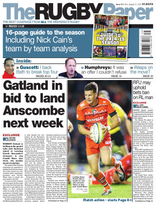 The Rugby Paper 31st August 2014