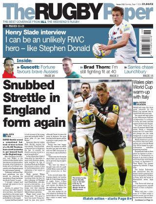 The Rugby Paper 7th September 2014