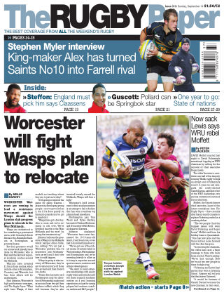 The Rugby Paper 14th September 2014