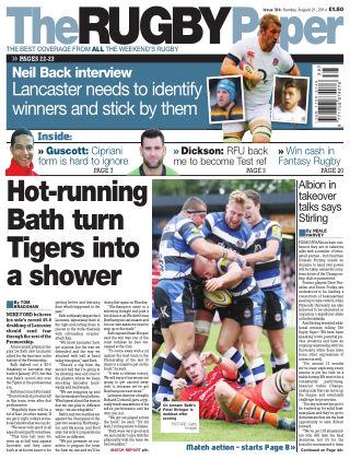 The Rugby Paper 21st September 2014