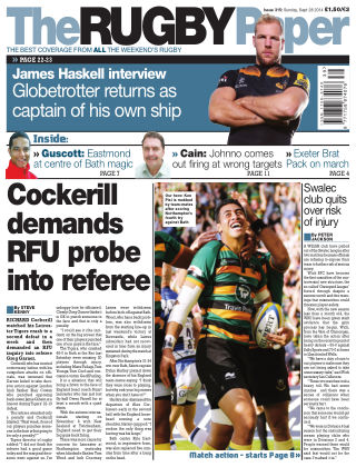 The Rugby Paper 28th September 2014