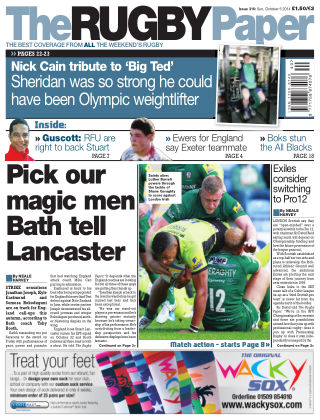 The Rugby Paper 5th October 2014
