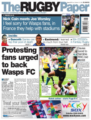 The Rugby Paper 12th October 2014