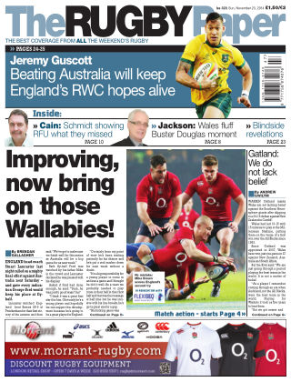The Rugby Paper 23rd November 2014
