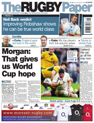 The Rugby Paper 30th November 2014