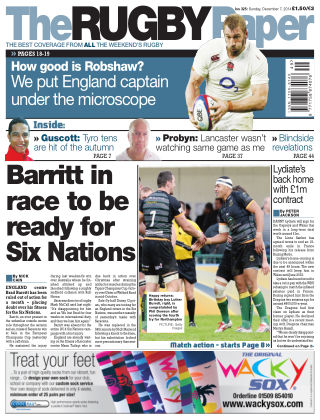 The Rugby Paper 7th December 2014