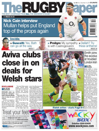 The Rugby Paper 14th December 2014