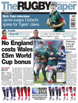 The Rugby Paper 5th January 2015