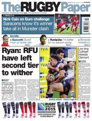 The Rugby Paper 11th January 2015