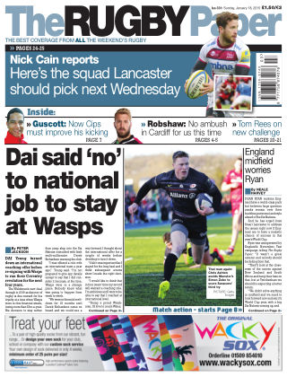The Rugby Paper 18th January 2015