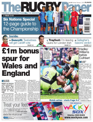 The Rugby Paper 1st February 2015