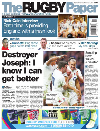 The Rugby Paper 15th February 2015
