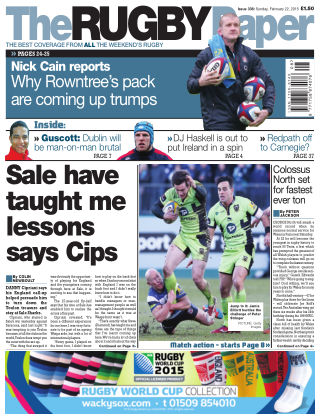 The Rugby Paper 22nd February 2015