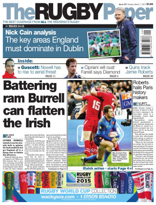 The Rugby Paper 1st March 2015