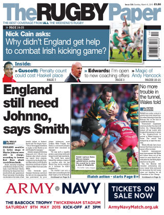 The Rugby Paper 8th March 2014
