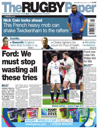 The Rugby Paper 15th March 2015