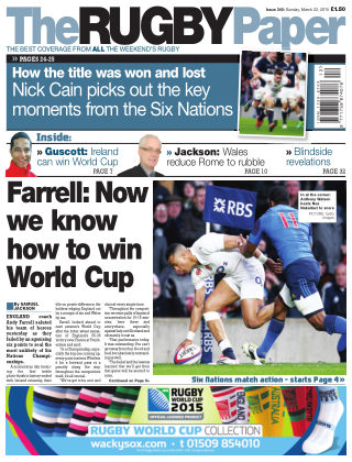 The Rugby Paper 22nd March 2015